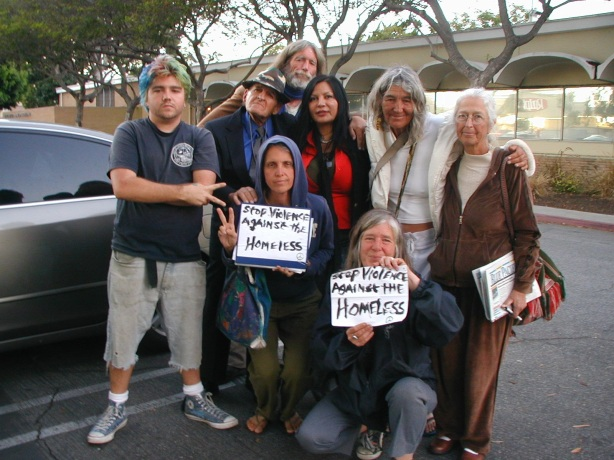 A group of Venice homeless advocates met with Councilman Bill Rosendahl on Thursday, December 9, 2010 to discuss abuse of homeless by LAPD